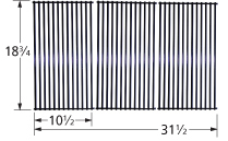 Porcelain steel wire cooking grid for Fiesta brand gas grills