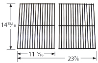 """porcelain steel wire cooking grid; Arkla,Charbroil,Turco; 13"""" x 19"""""""