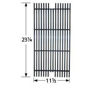 porcelain steel wire cooking grid; Viking; 22.75 x 11.625