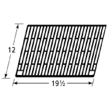 Gloss cast iron cooking grid for Charmglow, Olympia brand gas grills
