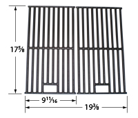 Gloss Cast Iron Cooking Grid for Chargriller, Jenn-Air, Vermont Castings Brand Gas Grills