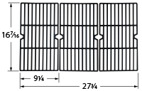 Matte cast iron cooking grid for Arkla, Charmglow, Falcon, Olympia brand gas grills