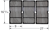 Cast Iron Cooking Grid for Aussie, Bakers & Chefs, Brinkmann, Broil-Mate, Grand Hall, Grill Chef, Grill Pro, Kenmore, Members Ma