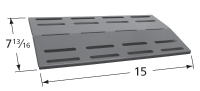 Porcelain Steel Heat Plate for Great Outdoors, Uniflame Brand Gas Grills