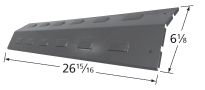 Porcelain steel heat plate for Arkla, Charmglow, Grill Master, Sunbeam brand gas grills