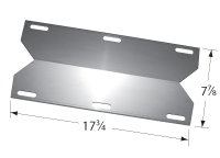 Porcelain Steel Heat Plate for Bbq Grillware, Uniflame Brand Gas Grills