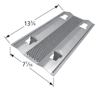 Stainless Steel Heat Plate for Fire Magic Brand Gas Grills