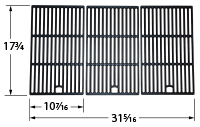 Gloss Cast Iron Cooking Grid for Jenn-Air, Kitchen Aid, Master forge, Nexgrill, Perfect Flame Brand Gas Grills