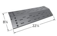 "stainless steel heat plate; Jenn-Air,Nexgrill; 17.75"" x 7.875"""