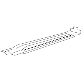 aluminized steel burner; Thermos; 30.5 x 2.25