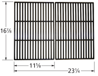 Matte cast iron cooking grid for Kenmore, Master Forge, Perfect Flame brand gas grills