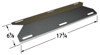 Porcelain Steel Heat Plate for Kenmore, Nexgrill, Uniflame Brand Gas Grills