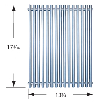 Stainless steel wire cooking grid for Backyard Grill, Better Homes & Gardens, Brinkmann, Grillada, Tuscany brand gas grills