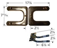 Stainless Steel Burner for Great Outdoors, Uniflame Brand Gas Grills