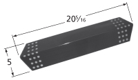 Porcelain steel heat plate for Charbroil, Kenmore, Master Chef brand gas grills