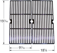 Glostainless Steel Cast Iron Cooking Grid for Members Mark Brand Gas Grills
