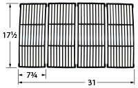 Matte cast iron cooking grid for Amana, Surefire brand gas grills