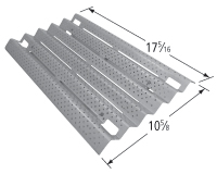 Porcelain steel heat plate for Centro, Cuisinart brand gas grills