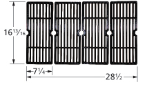 Gloss cast iron cooking grid for Ducane, Grill Chef, Uniflame brand gas grills