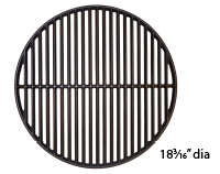 Gloss cast iron cooking grid for Coleman brand gas grills