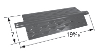 Porcelain steel heat plate for Aussie, Charbroil, Thermos brand gas grills