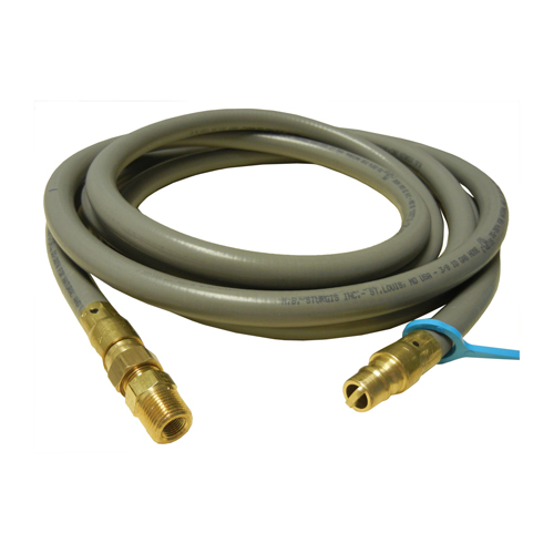 0.375 in. diameter natural gas hose; may be used with quick connect coupling 81441