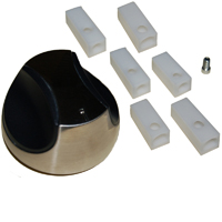 Plastic Control Knob for Charmglow, Kenmore, Nexgrill Brand Gas Grills