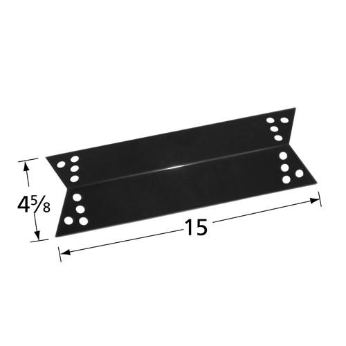 Porcelain steel heat plate for Charbroil, Kenmore, Nexgrill, Tera Gear brand gas grills