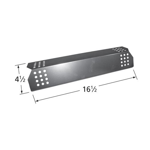 stainless steel heat plate; Kitchen Aid,Nexgrill; 16.5 x 4.5