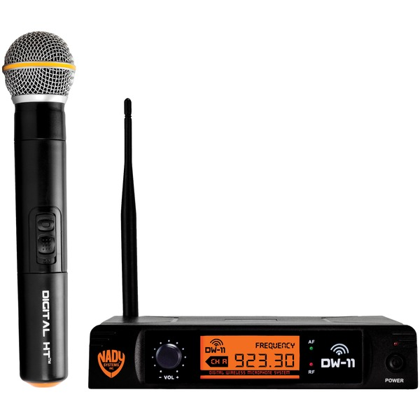 Nady DW-11-HT-ANY Single-Channel Digital Wireless Microphone System (Digital HT Handheld Microphone)