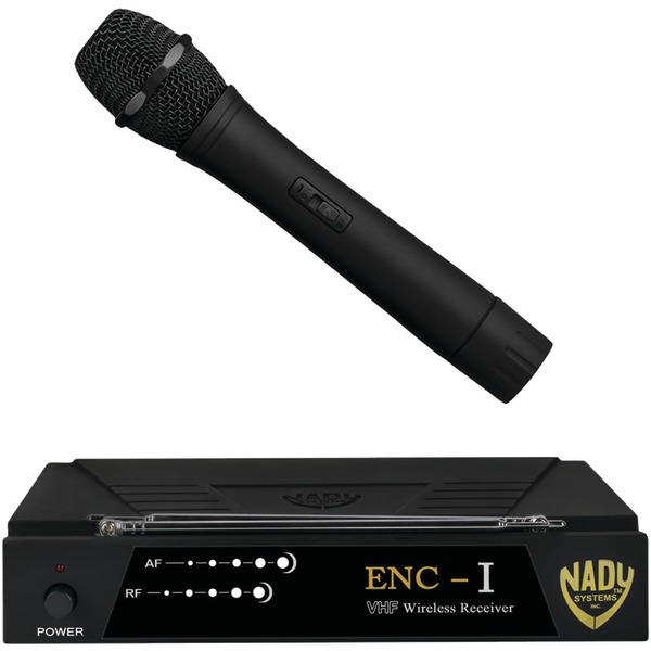 Nady ENC 1 HT ENC-I Professional Single-Channel VHF Wireless System