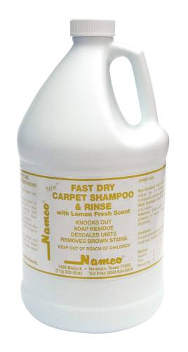 NAMCO FAST DRY SHAMPOO AND RINSE, LEMON SCENT, GALLON