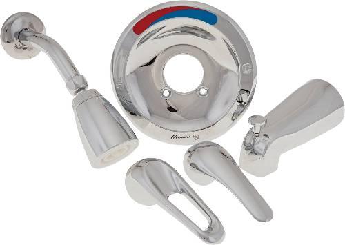 PREMIER PRO PAK TUB AND SHOWER TRIM KIT, LOOP/LEVER HANDLE