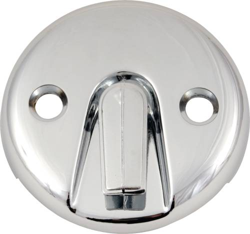 BATH DRAIN WITH TRIP LEVER FACE PLATE BRUSHED NICKEL