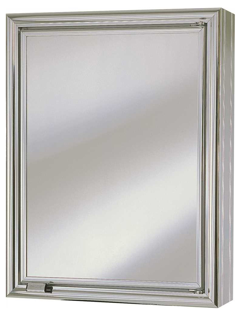 "13-3/4"" X 4-1/2"" X 17-3/4"" 1 Door Wall Mount Medicine Cabinet"
