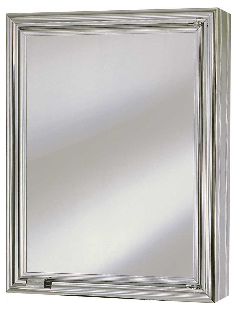 """13-3/4"""" X 4-1/2"""" X 17-3/4"""" 1 Door Wall Mount Medicine Cabinet"""