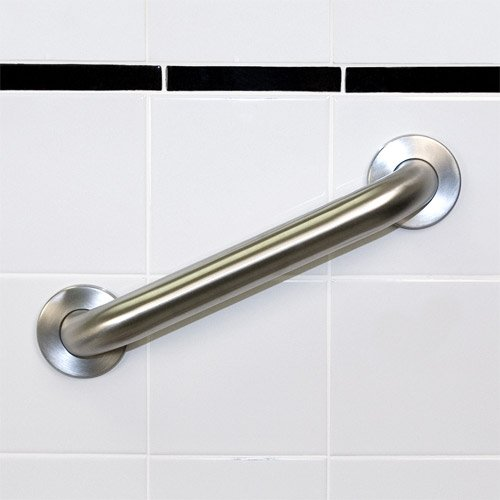 "1.5"" X 48"" Concealed Screw Grab Bar, Satin Stainless"