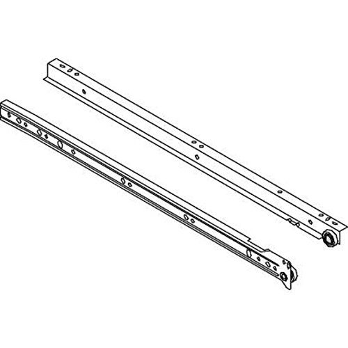 "DRAWER SLIDES 20"" SELF CLOSING"
