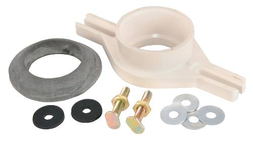 URINAL FLANGE KIT PVC HORIZONTAL SOCKET 2""