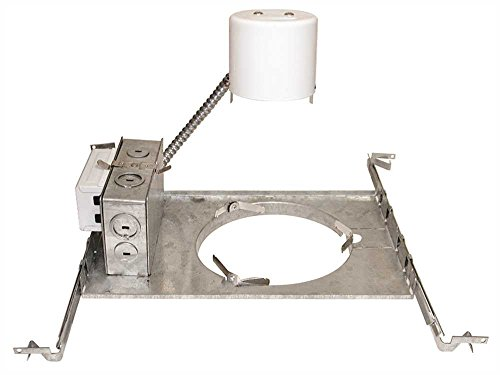 """Monument 6"""" Non-Ic Rated Remodel Housing, Uses One 26 Or 32 Watt Lamp"""