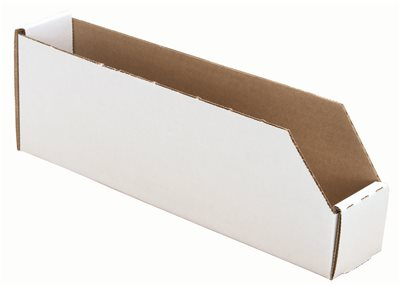 CORRUGATED BIN BOX #2 4 IN. W X 12 IN. D X 4 IN. H