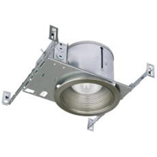 6-INCH SHALLOW NON IC-RATED NEW CONSTRUCTION HOUSING, BR30 / PAR30 75-WATT, MAX 40-WATT A19 LAMPS*