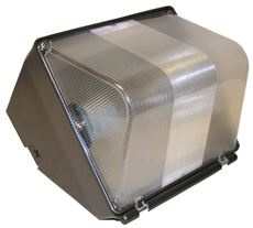 METAL HALIDE WALL PACK WITH LAMP 70 WATT 120 VOLTS