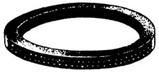 #1 FAUCET TOP GASKET (6-PLY)