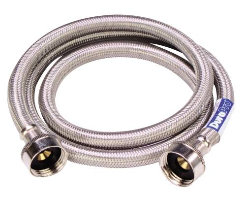 WASHING MACHINE HOSE 48 IN. STAINLESS STEEL