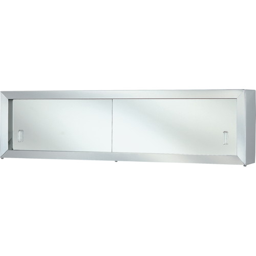 COSMETIC BOX WITH STYRENE DOORS 24 IN.