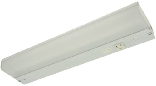 UNDER CABINET FLUORESCENT LIGHT FIXTURE, 18 X 4-1/2 X 1-3/4 IN., 1 F15T8 LAMP INCLUDED