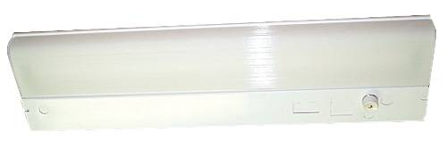 UNDER CABINET FLUORESCENT LIGHT FIXTURE, 18 X 5-1/2 X 1-3/4 IN., 1 F15T12 LAMP INCLUDED