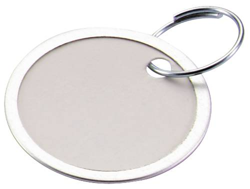 """LUCKY LINE� PAPER KEY TAG, 1-1/4"""", WHITE, 20 TAGS PER PACK"""