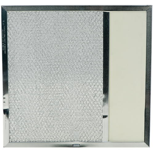 RANGE HOOD FILTER WITH COVER, 11-1/2X11-3/4X3/8 IN.